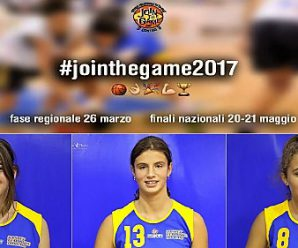 "JOIN THE GAME: ""Giallo-Blu"" alla fase REGIONALE"