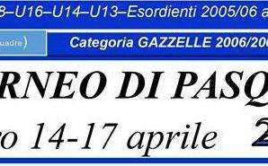 TORNEO DI PASQUA – Terminato il Torneo di Pesaro, rientro alla base per le nostre U16 ed U18 dopo quattro giorni intensi e veloci