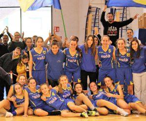 UNDER 16: Con la vittoria sulle Spring le giallo-blu chiudono il girone di andata al secondo posto