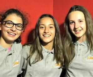 """Il B.F. Porcari con Federica, Sara e Valentina al """"Fosco Carloni"""""""