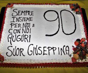 Porcari in festa per i 90 anni di Suor Giuseppina!!!