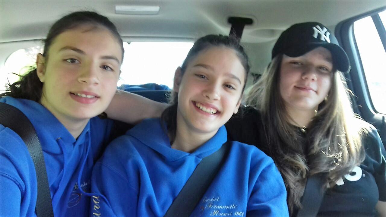 Martina, Sara, Bianca