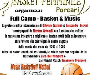 Full Camp – Basket & Music!