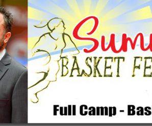 Coach Gabriele Grazzini al Full Camp – Basket&Music
